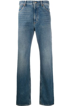 Gucci Heren Straight - Washed-effect straight leg jeans