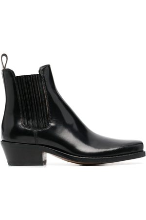 Buttero Dames Enkellaarzen - Patent leather ankle boots