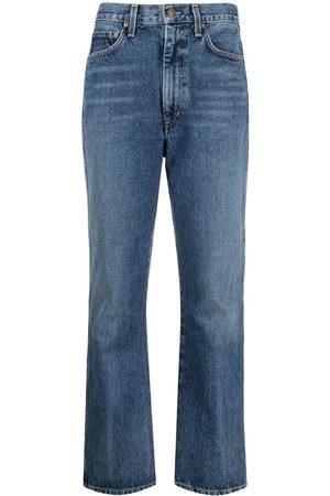 AGOLDE Kick high-waisted jeans
