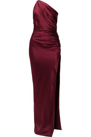 Michelle Mason Dames Asymmetrische jurken - One-shoulder silk gown