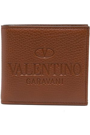 VALENTINO GARAVANI Heren Portemonnees - Logo-debossed cardholder