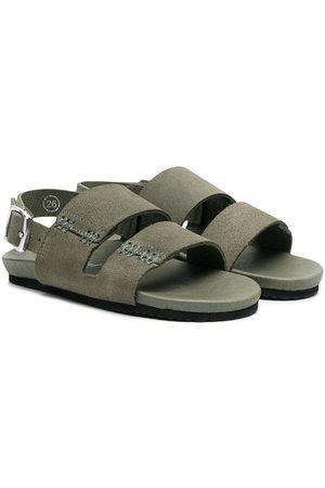 BONPOINT Suede flat sandals