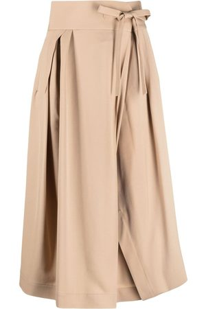 Chloé Tie waist cropped trousers
