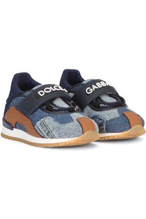 Dolce & Gabbana Sneakers - Denim patchwork sneakers