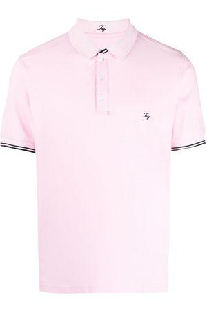 FAY Logo-embroidered polo shirt