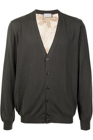 PIERRE-LOUIS MASCIA Heren Cardigans - Printed back cardigan