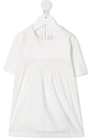 BONPOINT Meisjes Casual jurken - Pleat-detail jersey dress