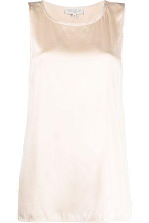 ANTONELLI Dames Blouses - Sleeveless silk blouse
