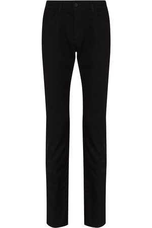 Dolce & Gabbana Heren Slim - Logo-patch slim-fit jeans
