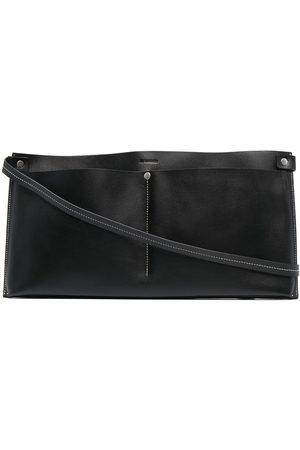 Jil Sander Heren Schoudertassen - Leather shoulder bag