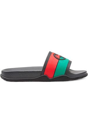 Gucci Heren Teenslippers - Interlocking G slide sandals