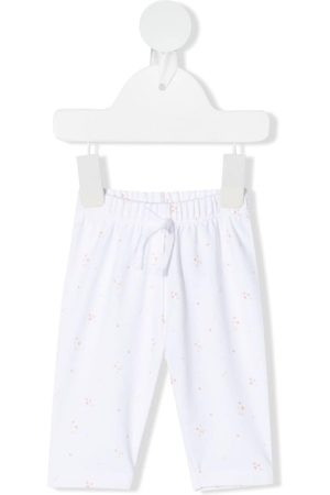 KNOT Embroidered drawstring trousers