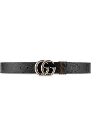 Gucci Heren Riemen - GG Marmont reversible belt