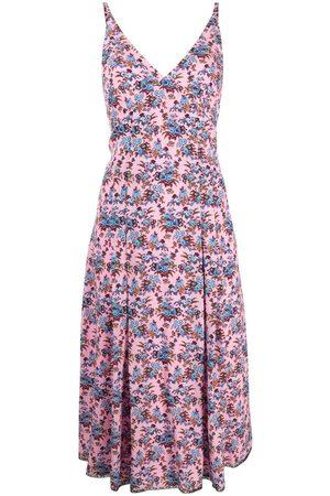 Paul Smith Floral-print A-line dress