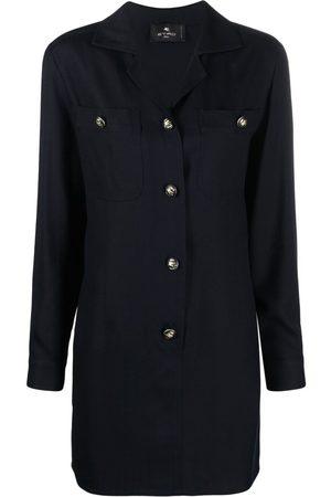 Etro Decorative button shirt dress