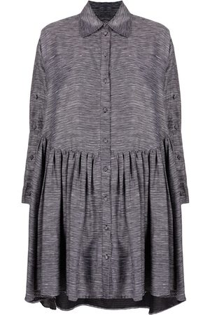 HENRIK VIBSKOV Stripe-patterned oversized dress