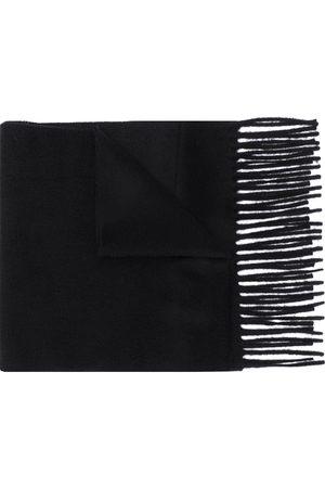 Filippa K Fine knit frayed edge scarf