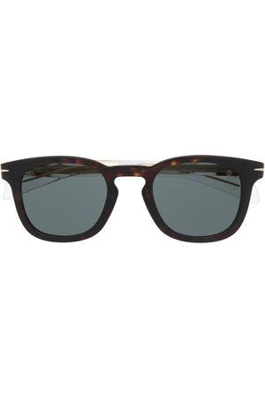 DB EYEWEAR BY DAVID BECKHAM Rounded tortoiseshell glasses