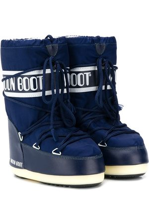Moon Boot Meisjes Snowboots - Logo lace-up snow boots