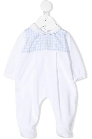 LA STUPENDERIA Checked chest pyjama