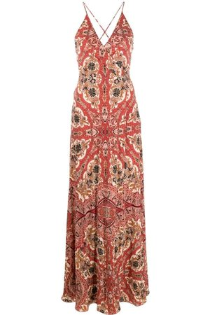 Etro Paisley-print sleeveless maxi dress