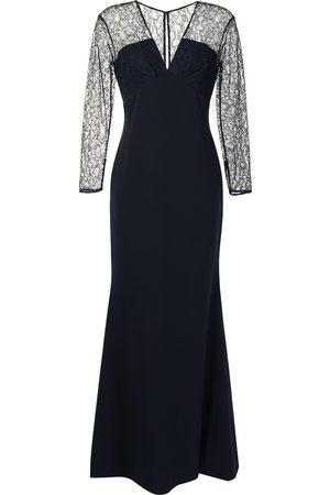 Sachin & Babi Dames Feestjurken - Katerina V-neck gown