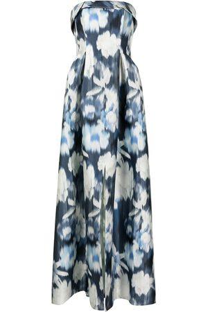Sachin & Babi Dames Feestjurken - Brielle floral ikat print dress