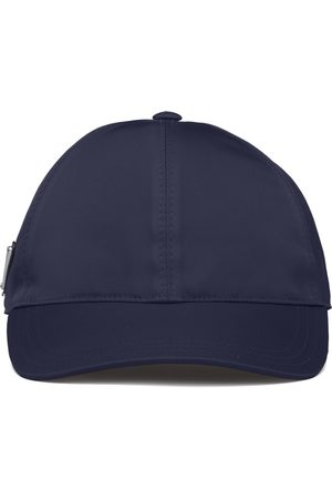 Prada Re-Nylon triangle logo cap