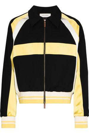 WALES BONNER Heren Bomberjacks - Isaacs panelled bomber jacket