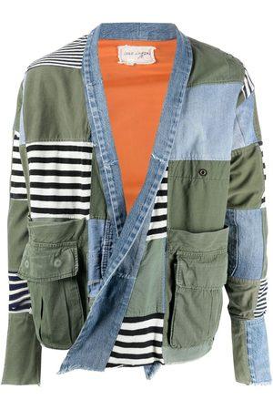 GREG LAUREN Patchwork jacket