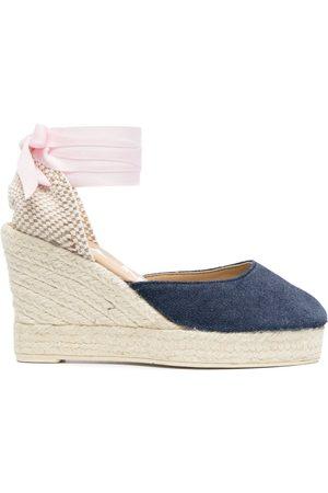 MANEBI Dames Sleehakken - San Francisco wedge sandals