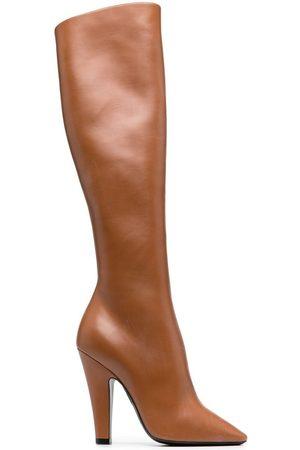 Saint Laurent Dames Hoge laarzen - 68 110mm knee-high boots