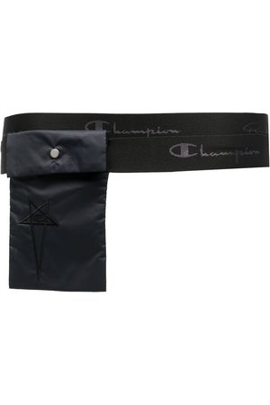 Rick Owens Heren Riemen - Embroidered-logo pocket belt