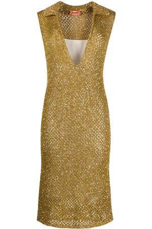 Missoni Dames Gebreide jurken - Sequin-embellished knitted dress