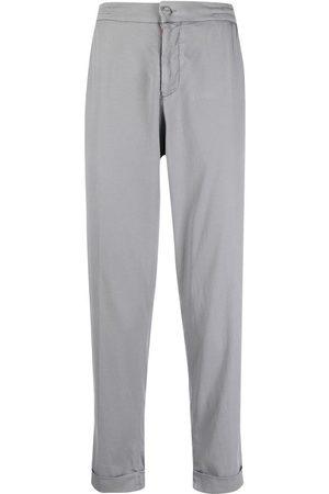 Kiton Heren Chino's - Cropped chino trousers