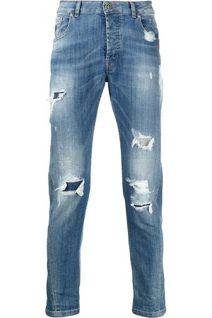 John Richmond Heren Slim - Mick distressed slim-fit jeans
