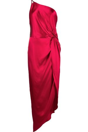 Michelle Mason Dames Feestjurken - Twist-knot silk dress
