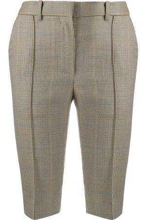 Rokh Houndstooth city shorts
