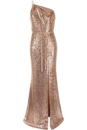Marchesa Notte Sequin-embellished bridemaids dress