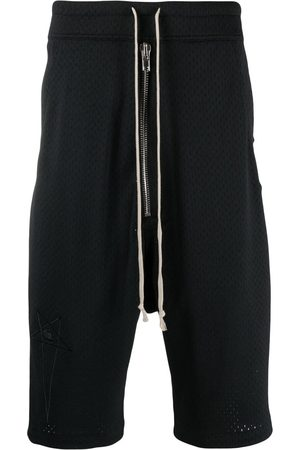 Rick Owens Drop-crotch mesh shorts