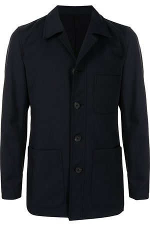 QASIMI Nocthed-lapels single-breasted blazer