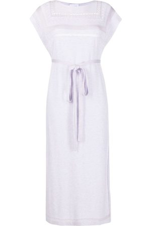 Barrie Belted waist knitted dress