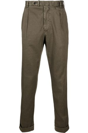 DELL'OGLIO Heren Chino's - Box pleat chinos