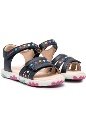 Geox Meisjes Schoenen - Haiti Girl colour-block stud sandals