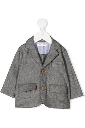 Zhoe & Tobiah Blazers - Single-breasted textured blazer