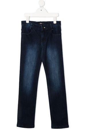 HUGO BOSS Jongens Slim - High-rise slim-leg jeans