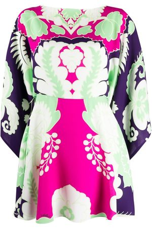 VALENTINO Dames Geprinte jurken - World Arazzo-print mini dress