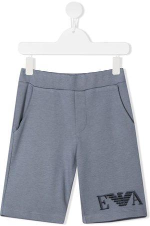 Emporio Armani Logo print casual shorts