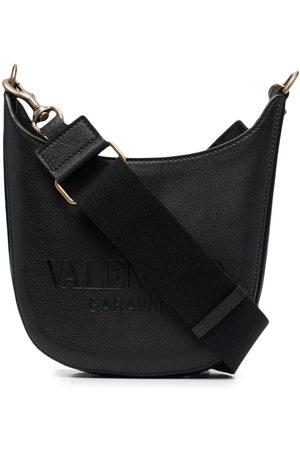 VALENTINO GARAVANI Heren Schoudertassen - Small logo-embossed shoulder bag