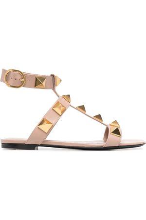 VALENTINO GARAVANI Dames Sandalen - Rockstud-detail open-toe sandals
